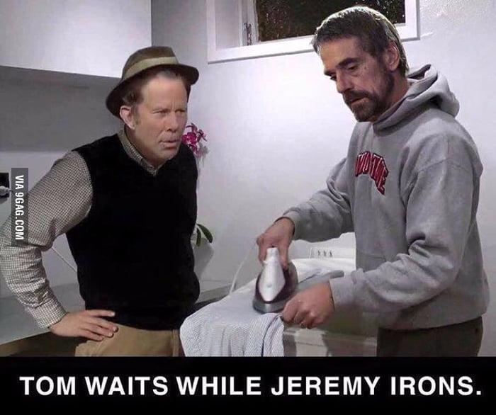 Αποτέλεσμα εικόνας για tom waits while jeremy irons