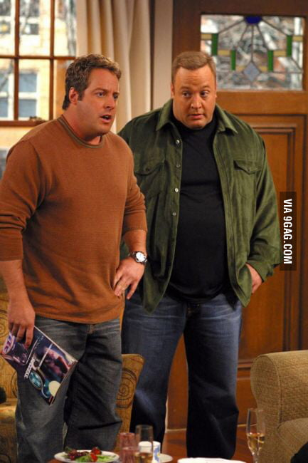 Schön Kevin James And Gary Valentine (king Of Queens