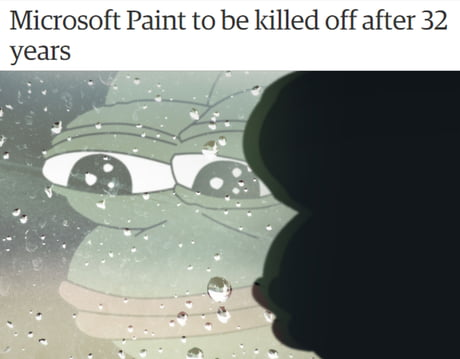MS Paint will always be in our hart