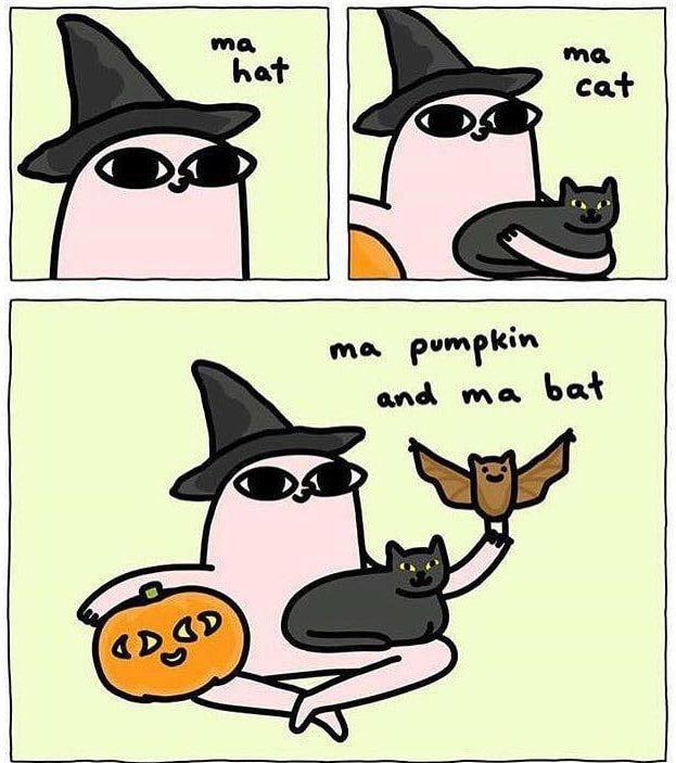 2 more days till halloween - 9GAG