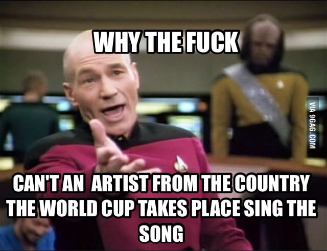 On Pitbull and JLo (both not Brasilian) singing the WC song - 9GAG