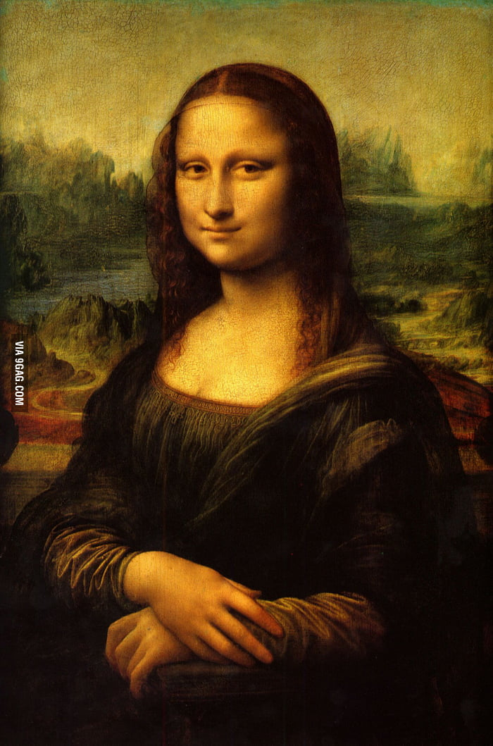 Check out this painting my grandfather made  (9gag nowadays) - 9GAG