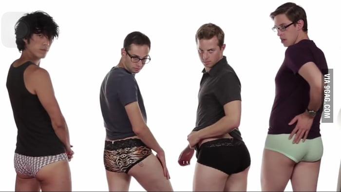Why do men wear women's underwear?