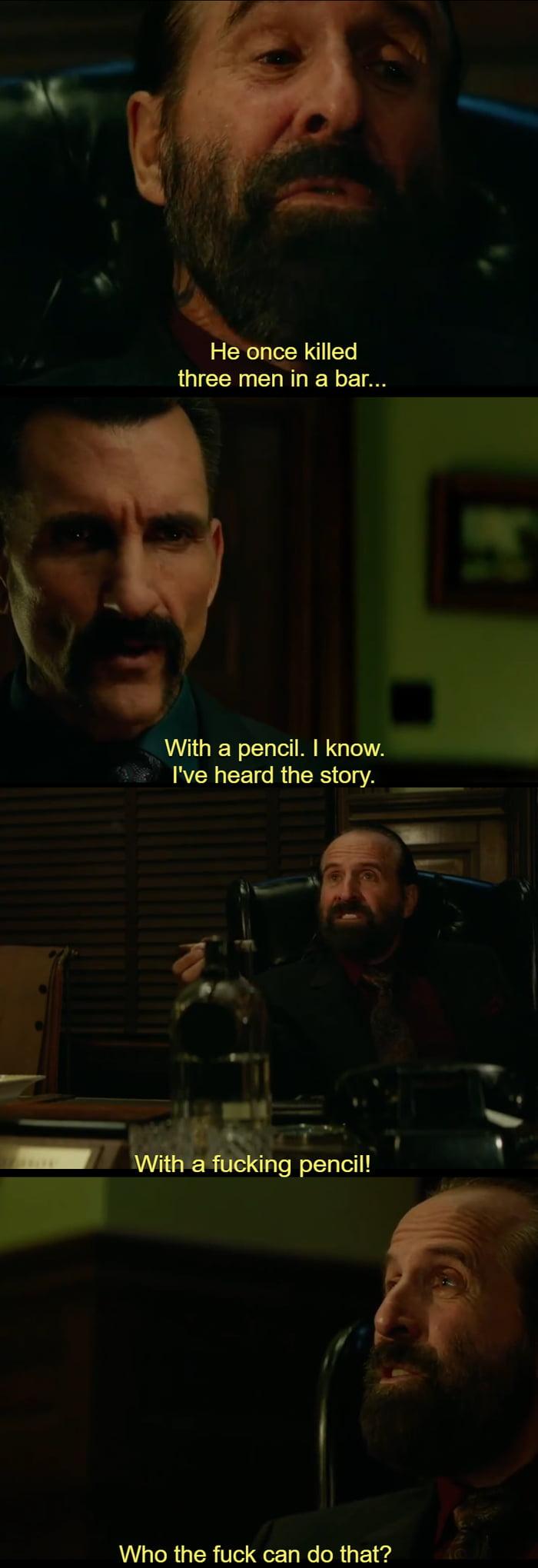 My Favourite Dialog In John Wick 2 9gag