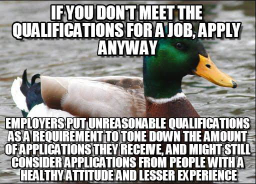 Got this advice from an actual employer, and it's been really helpful