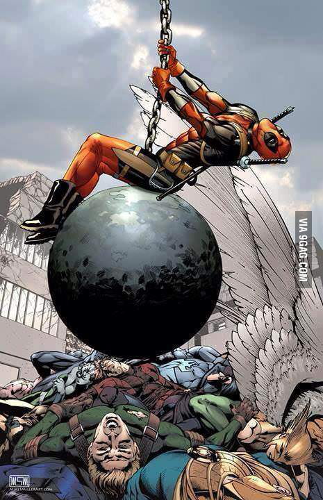 I came in like a wrecking ball...