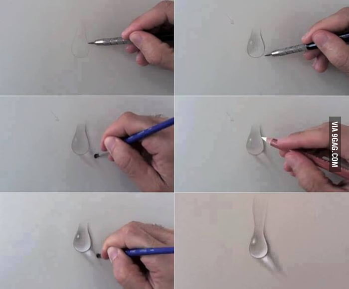 How To Draw Water Drops 9gag