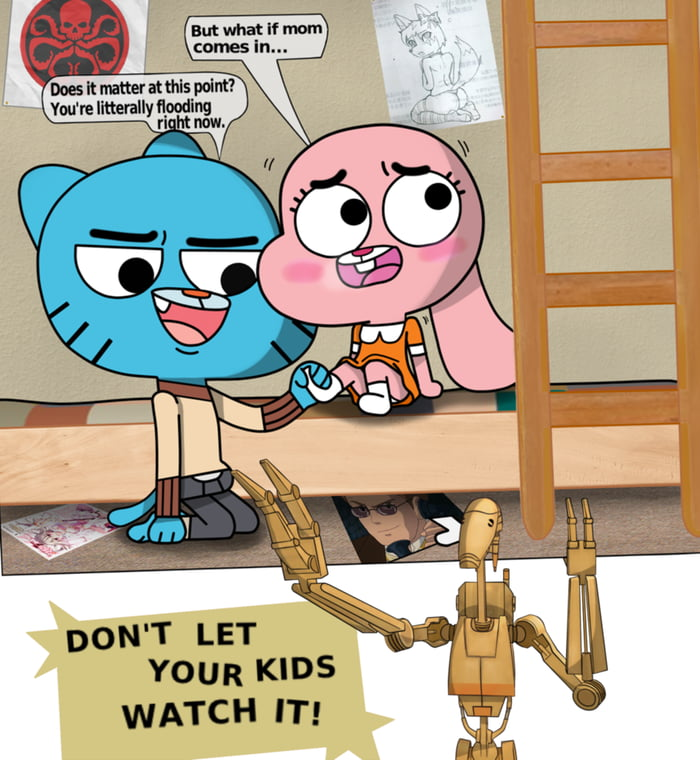 World of gumball porn the amazing world of gumball porn