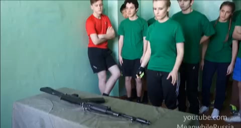 AK-74: Assembly & Disassembly In Russian School
