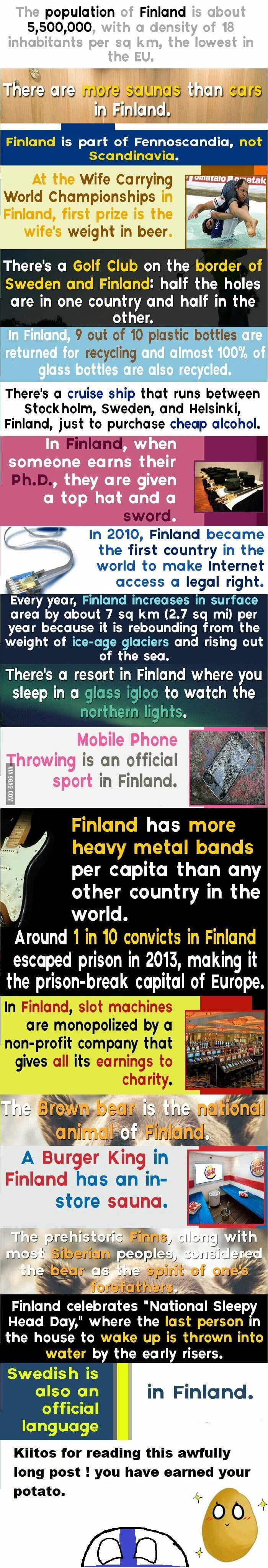 Finland just turned 100 years today so