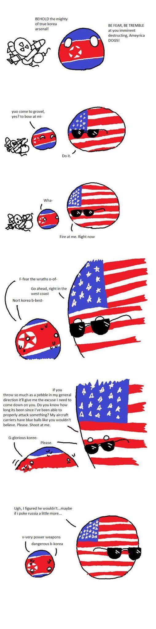 Kim Jong Un VS Trump