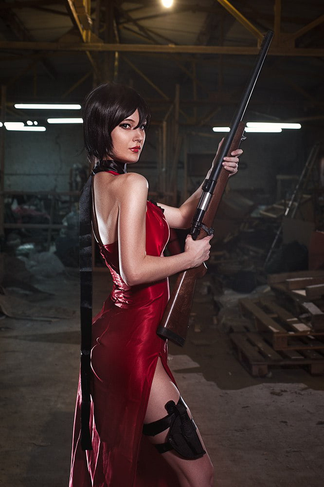 Resident evil ada wong cosplay nude