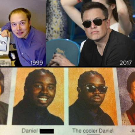 From a nerd to Johnny Bravo
