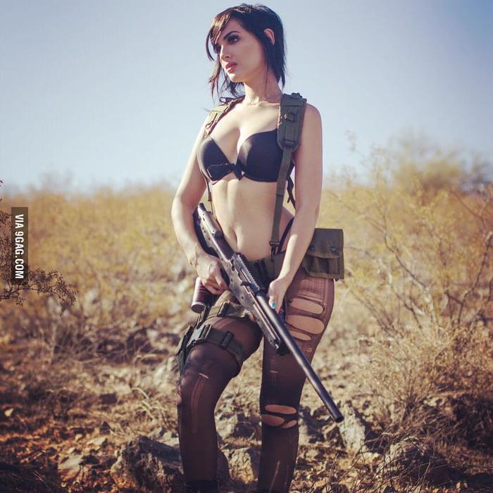 Sssniperwolf Mgs5 Cosplay 9gag