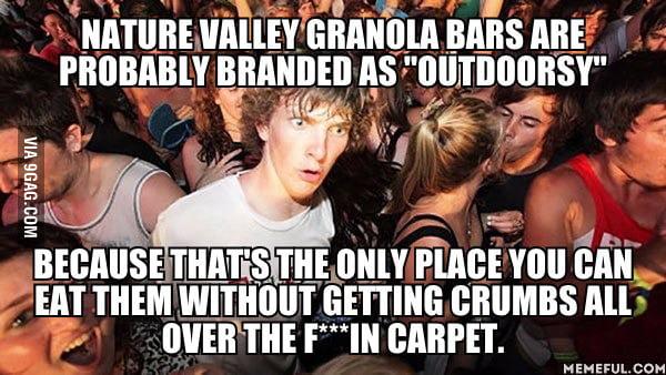I Love Nature Valley Granola Bars 9gag