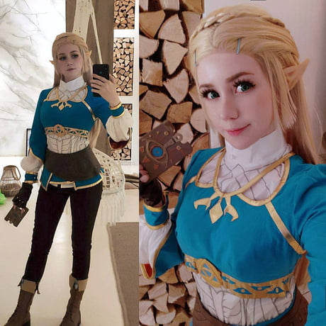 Princess Zelda Cosplay The Legend Of Zelda Breath Of The