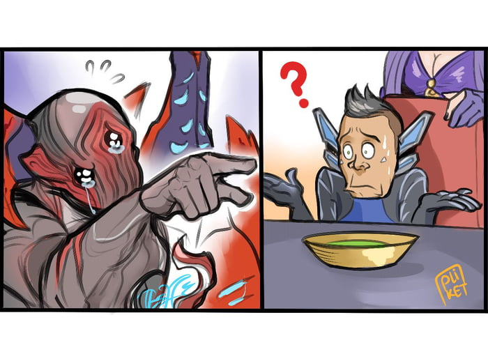 When the Tenno keep bullying you're acolytes for mods  (source from