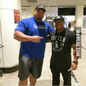 Brian Shaw, 2015 World Strongest Man beside multiple Mr ...