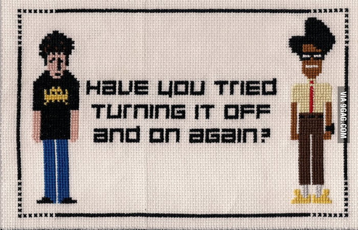 Image result for it crowd turn it off