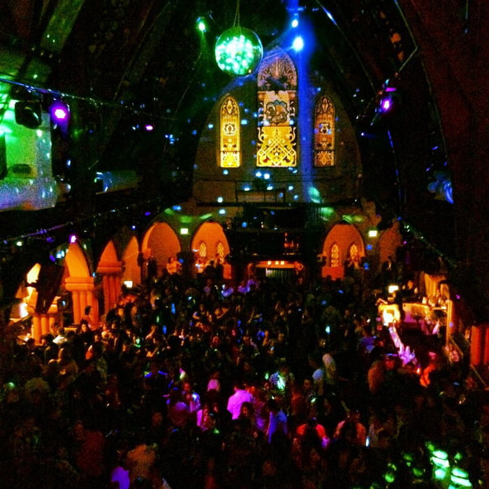 This Old Church Is Now A Night Club In Denver, Colorado