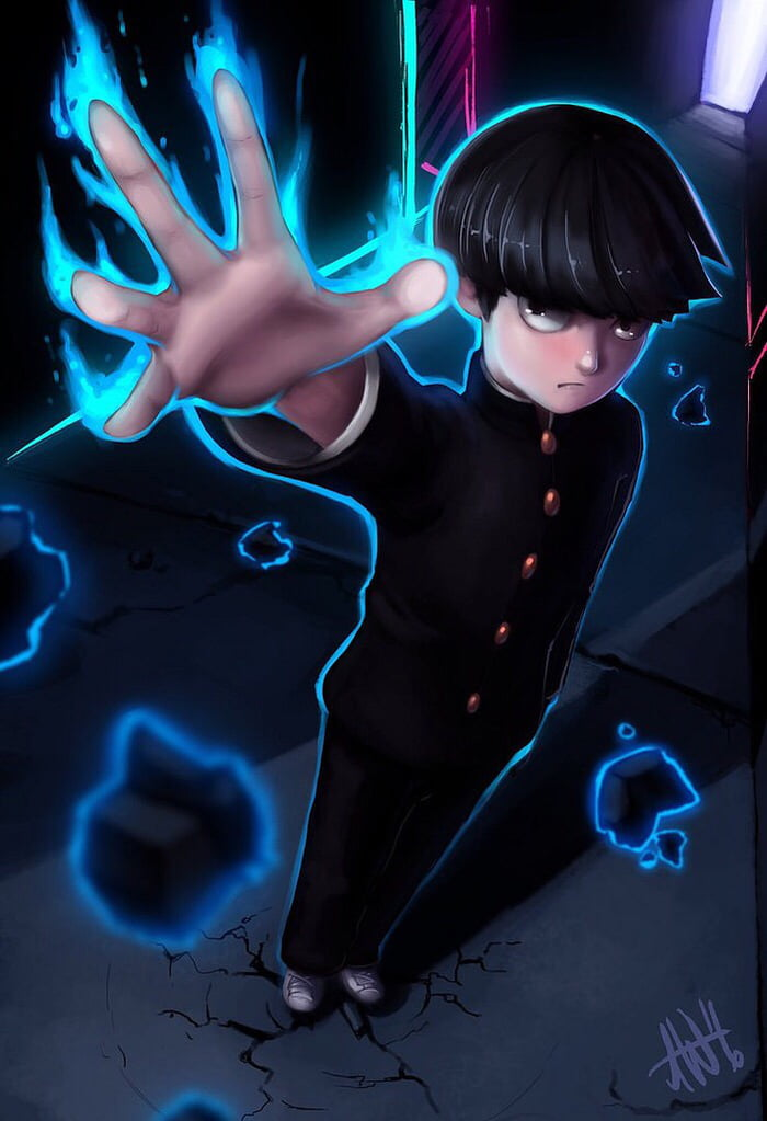 Reply To The Tokyo Ghoul Wallpaper Here Is Mob Psycho 100 Pic