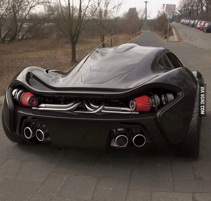 Mclaren P1 Because F K Tail Lights That S Why 9gag
