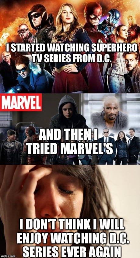 Once you go marvel it's hard to go back