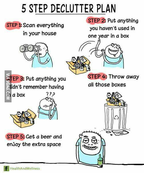 5 Step Declutter Plan 9gag,What Are Scallops Made Out Of