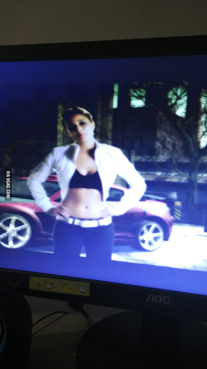 First Crush!? Josie Maran (Mia from NFS Most Wanted 2005) - 9GAG