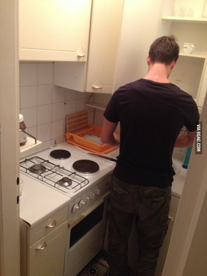 Smallest Kitchen In The World.