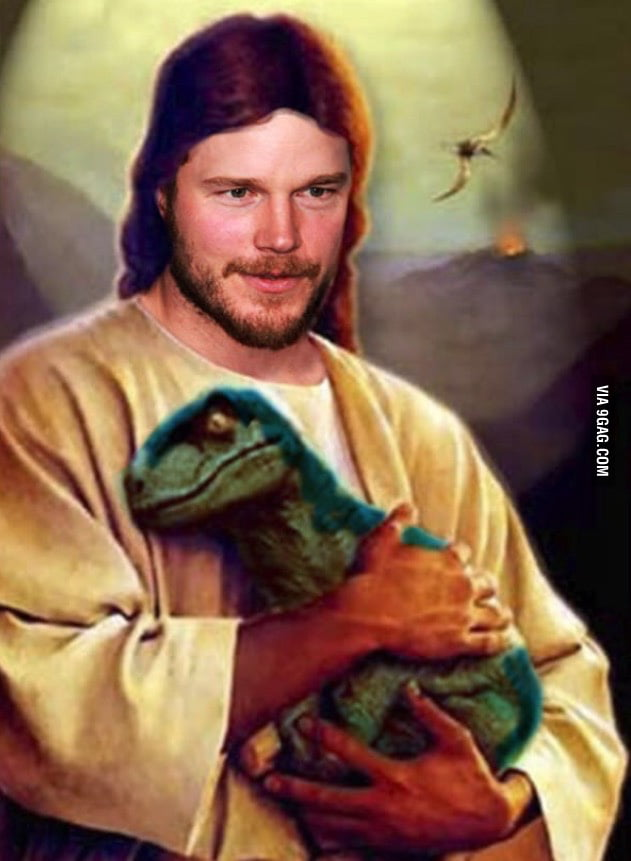 the real raptor jesus 9gag