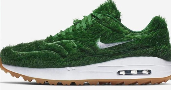 adf0ebe6c7 Nike To Launch New Air Max Trainers Made Of Fake Grass - 9GAG