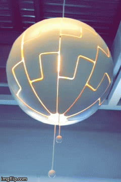 IKEA Death Star Light