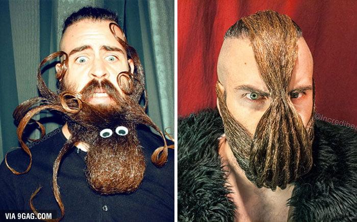 Mr. Incredibeard Is Back With New Epic Beards