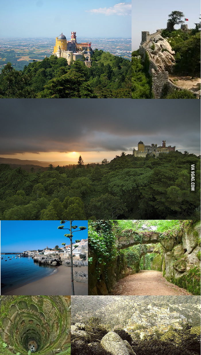 I heard that you like beautiful places... This is where I live. Sintra, Portugal