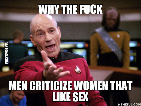 Less slut-shaming = More sex. YAAAY! - 9GAG
