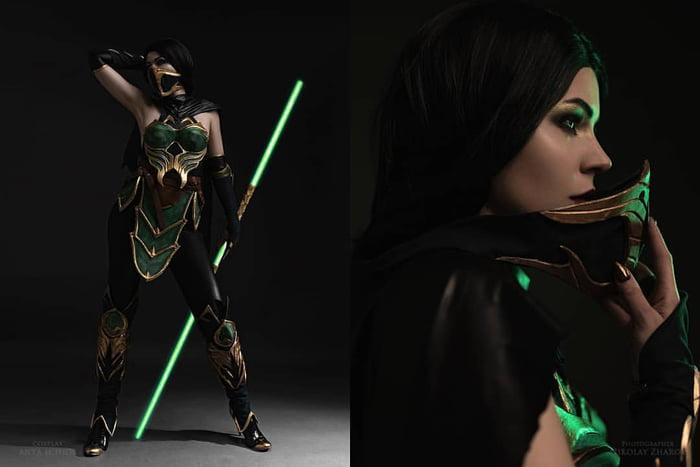 Jade Cosplay By Anya Ichios Mortal Kombat 11 9gag