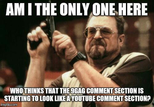 With all those want sum fck and edgy ASCII art - 9GAG
