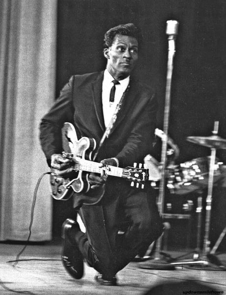 Today, the father of Rock 'n Roll, Chuck Berry, passed out. RIP