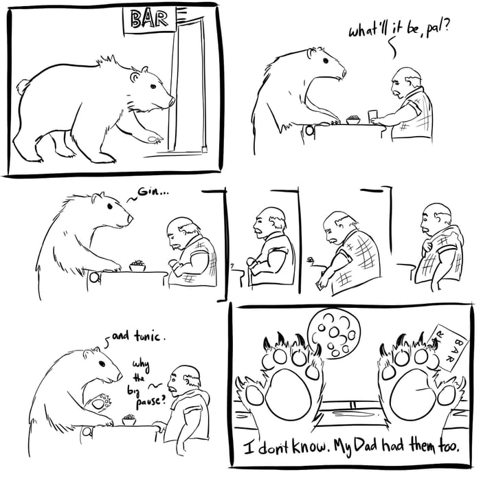 This is unbearably punny.