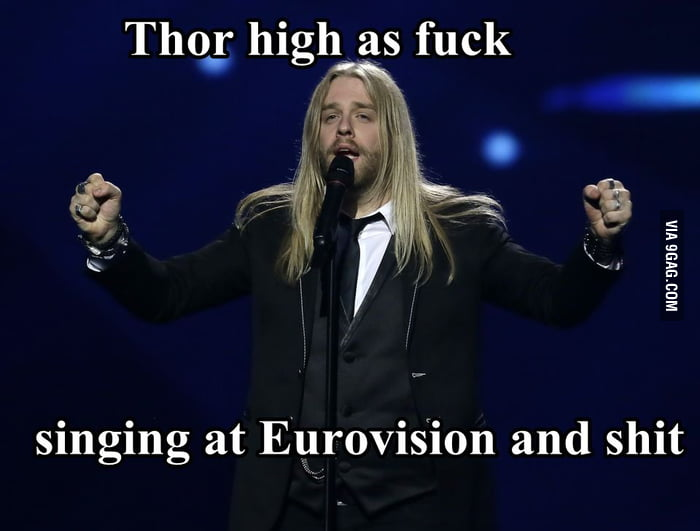 Thor is high