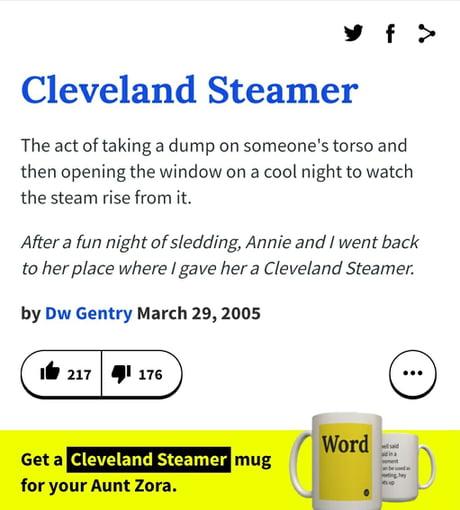 Clevland steamer