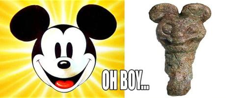 Viking Mickey Mouse