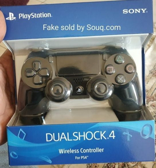 How to spot fake PlayStation 4 Pro Controllers? - 9GAG