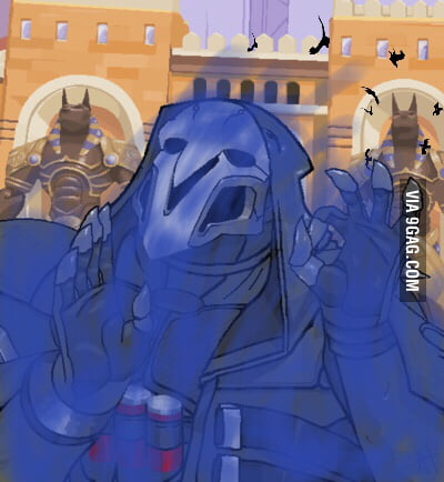 When you use your wraith form to dodge roadhog's hook just right ...