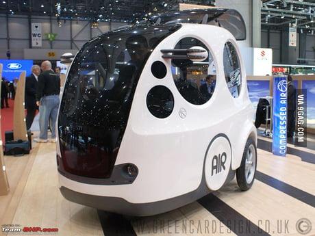 Car That Runs On Air >> Airpod A Car That Runs On Air And Costs 10 000 9gag