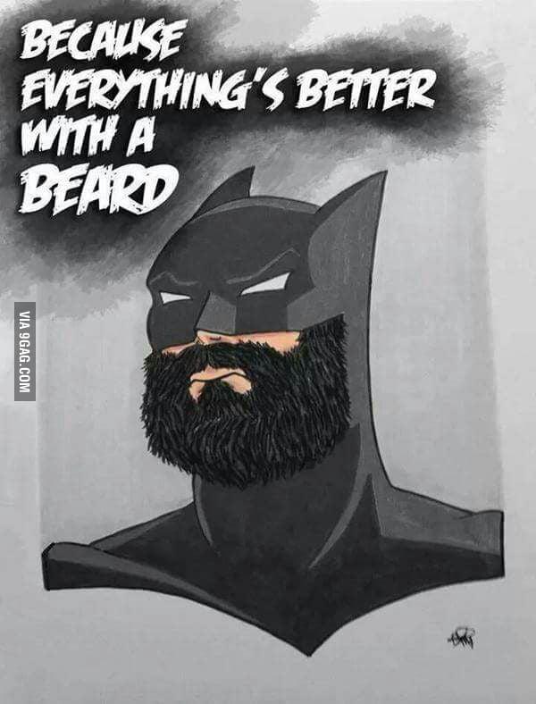 Beard Game Is Strong 9gag
