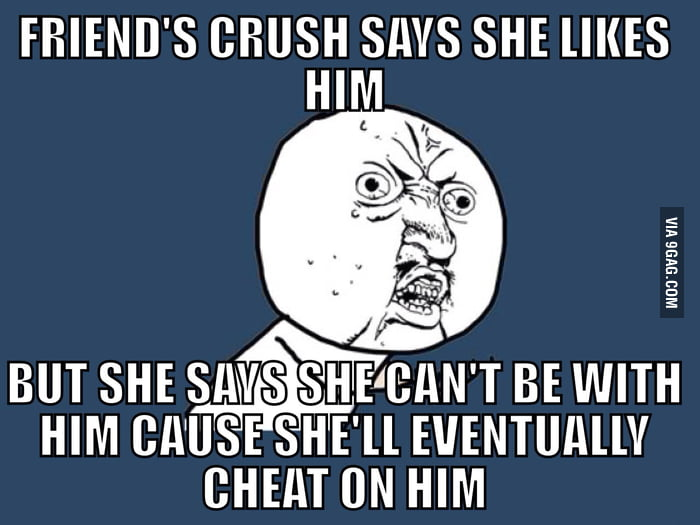 why would he cheat