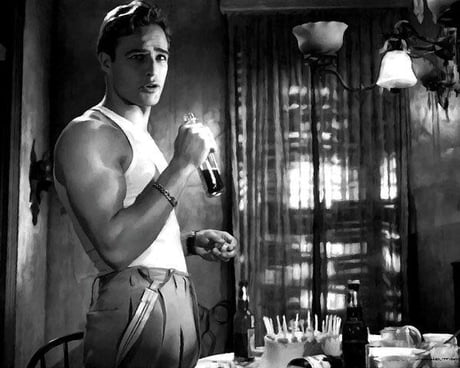 Brando in A Streetcar Named Desire - 1951. - 9GAG