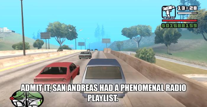 Radio X, K-DUST, Radio Los Santos, PlaybackFM, SF-UR     so